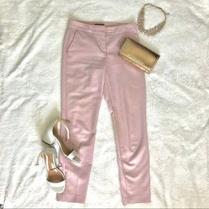 Express Columnist Ankle Pants in Blush Pink